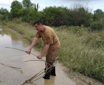 На Дністрі вилучено 500 метрів браконьєрських сіток, - Івано-Франківський рибпатруль